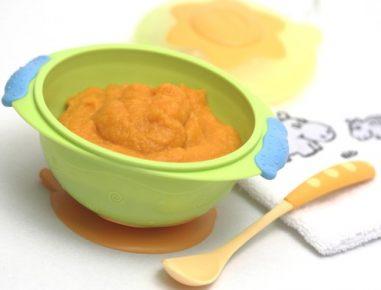 Hrana za dojenčke: kaša iz krompirja in korenja
