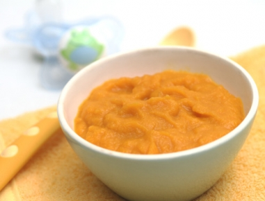 Hrana za dojenčke: kaša iz buče in krompirja