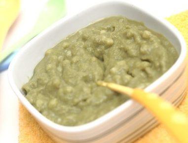 Hrana za dojenčke: losos z brokolijem in s krompirjem