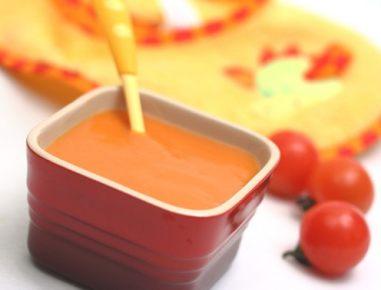 Hrana za dojenčke: paradižnikova juha