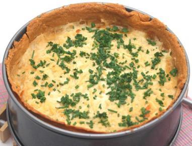 Pita s krompirjem in porom