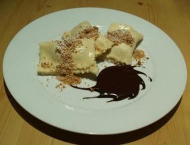 Čokoladno-bananini žepki