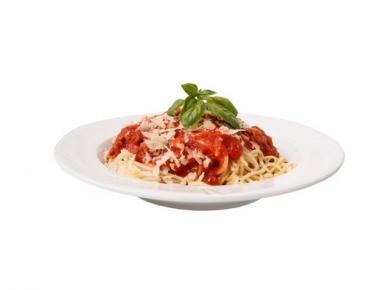 Špageti s paradižnikom in parmezanom