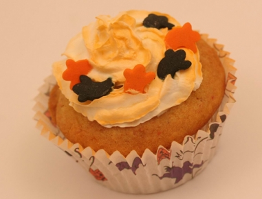 orange halloween muffins rezept. Black Bedroom Furniture Sets. Home Design Ideas