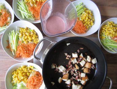 caesar salad sauce rezept. Black Bedroom Furniture Sets. Home Design Ideas