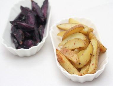 Pečeni krompirjevi krhlji