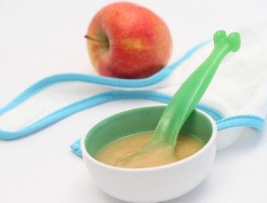 Hrana za dojenčke: jabolčna kaša