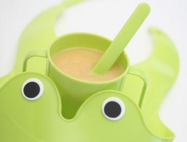 Hrana za dojenčke: Mlečna kašica z banano