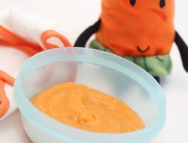 Hrana za dojenčke: Kašica iz korenčka, krompirja in piščanca