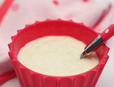 Hrana za dojenčke: mlečni riž z jabolkom