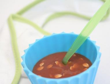 Hrana za dojenčke: prosena mlečna kaša s slivami