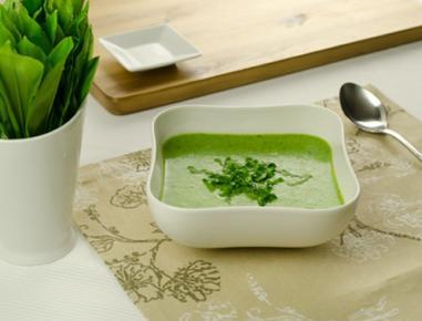 Čemaževa kremna juha s krompirjem