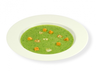 Brokolijeva juha z ingverjem