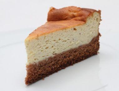 Sirova torta s čokoladno podlago
