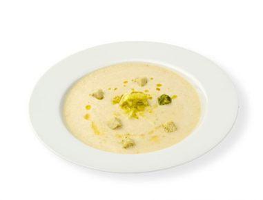 Hladna juha iz pinjenca in jabolk