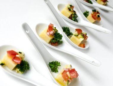 Polentine rezine z omako