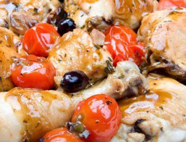 Piščanec po toskansko