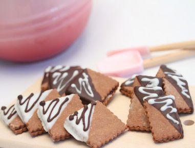 Čokoladni piškoti z mandlji