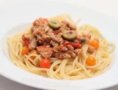 Špageti s tuno