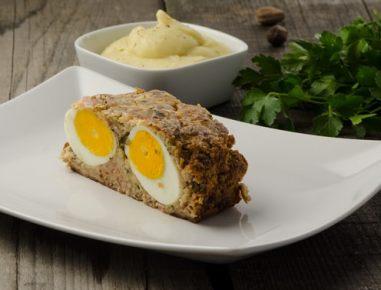 Štefani pečenka z jajcem
