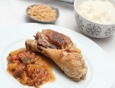 Zimski piščanec s šunko in lešniki