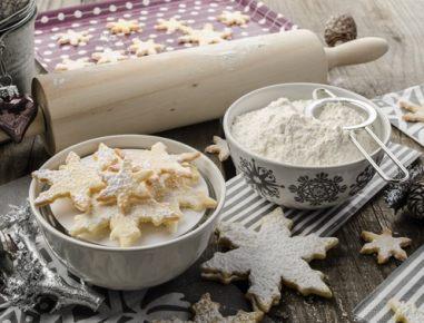Božični piškoti - enostavno osnovno testo