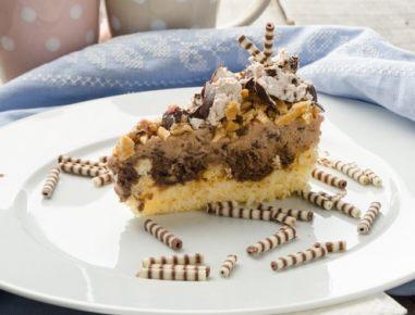 Torta iz indijančkov in čokolado
