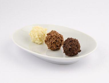 Čokoladne kroglice s pariško kremo