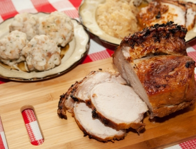 Babičina svinjska pečenka