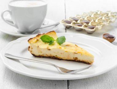 Pečena torta Toffifee s kremnim sirom