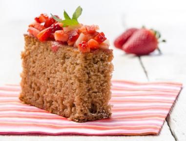 Jagodni kolač (brez jajc)