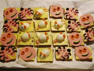 Otroški sirovi kruhki