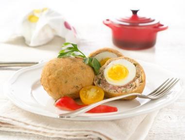 Mleto meso z jajcem