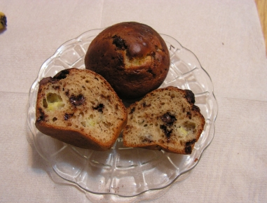 bananen schokoladen muffins rezept. Black Bedroom Furniture Sets. Home Design Ideas