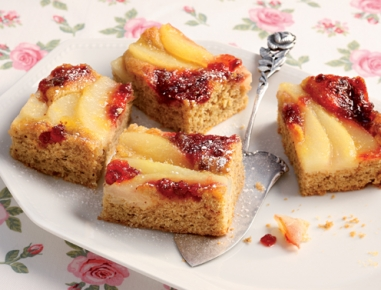 Preiselbeer Kuchen