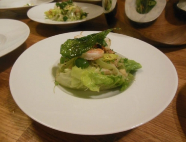 r mersalatherzen kiwi gurken salat mit garnelen rezept. Black Bedroom Furniture Sets. Home Design Ideas