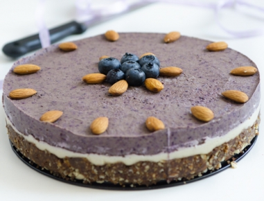 Veganska torta brez peke
