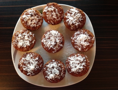 bananen kokos muffins ohne mehl rezept. Black Bedroom Furniture Sets. Home Design Ideas