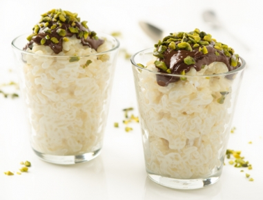 Čokoladni mlečni riž