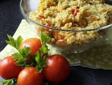 marokkanischer couscous salat mit roten linsen rezept. Black Bedroom Furniture Sets. Home Design Ideas