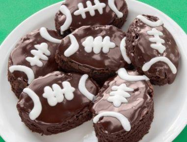 american football brownies rezept. Black Bedroom Furniture Sets. Home Design Ideas
