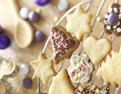 Beliebtesten Weihnachtskekse.Bunte Weihnachtskekse Das Grundrezept