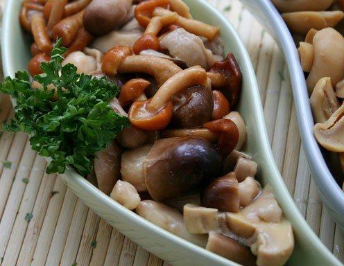 Einkochen haltbar machen - Pilze in glaser einkochen ...