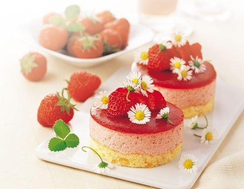 Erdbeertörtchen - Rezept - ichkoche.at