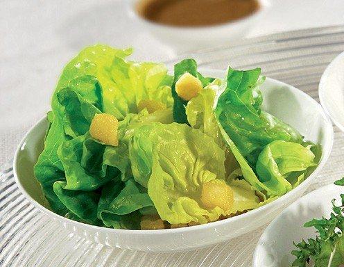 gr ner salat mit sacher hausdressing rezept. Black Bedroom Furniture Sets. Home Design Ideas