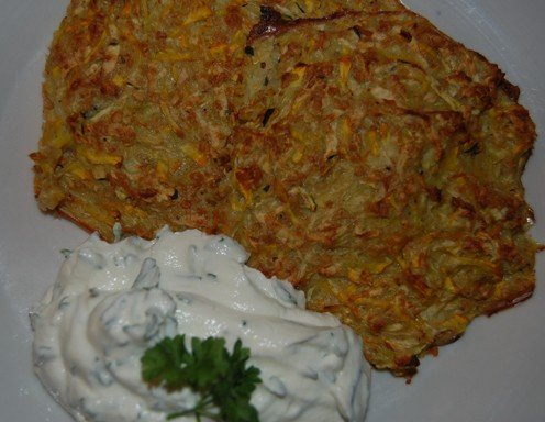 Rezept kartoffel karotten laibchen