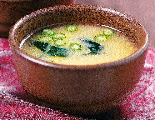 Tofu & Wakame Miso Soup Recipe — Dishmaps