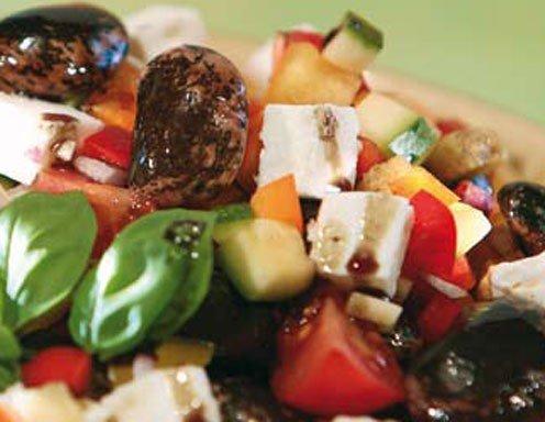 Schafkäsesalat Mit Käferbohnen Rezept Ichkocheat