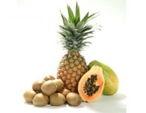 Ananas-Papaya-Saft zur Fettverbrennung