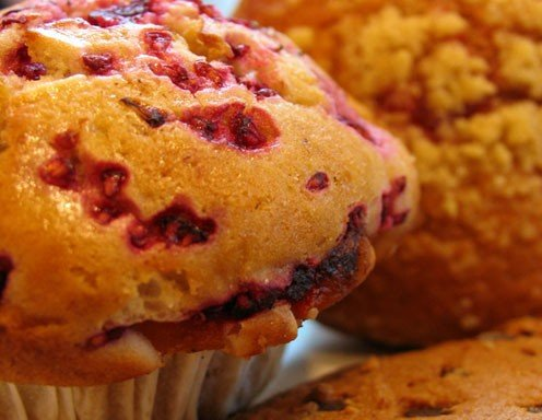 Ribisel-Cornflakes-Muffins